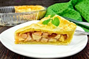 Przepis na: Ciasto z jablkiem