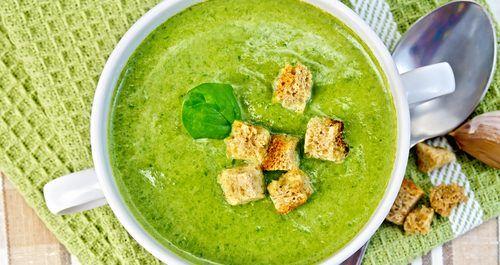 Szef kuchni poleca: Zielona zupa krem