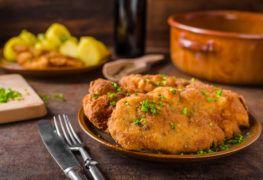 Sznycelki z kurczaka nadziewane brokułami