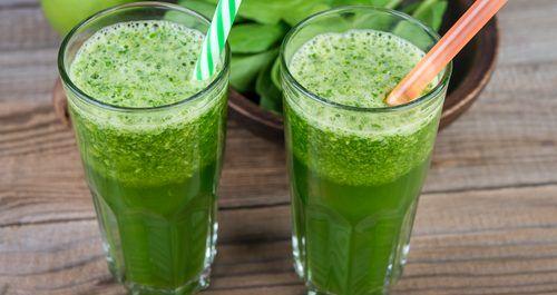 Zielony koktail